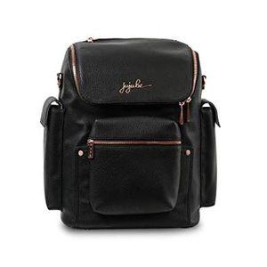 Jujube Forever Vegan Leather Backpack (Black)